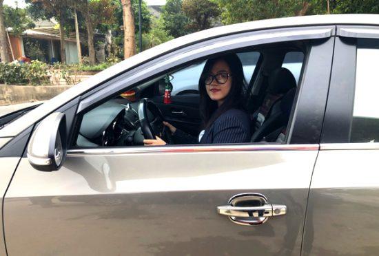 học và thi bằng lái xe ô tô số tự động hạng B1 tại trường PCCC