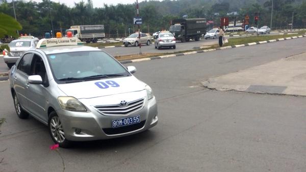 Bằng lái xe B2 trường PCCC được học và thi nhiều tại Hà Nội