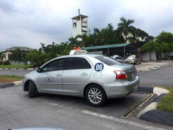 thi bằng lái xe ô tô B1 B2 C trường PCCC