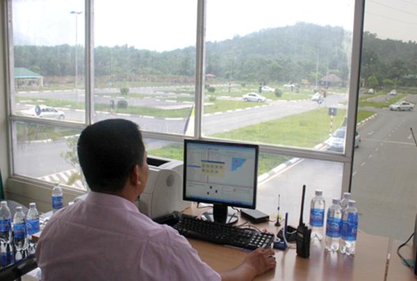 thi bằng lái xe b2 tại trường PCCC Bộ Công An