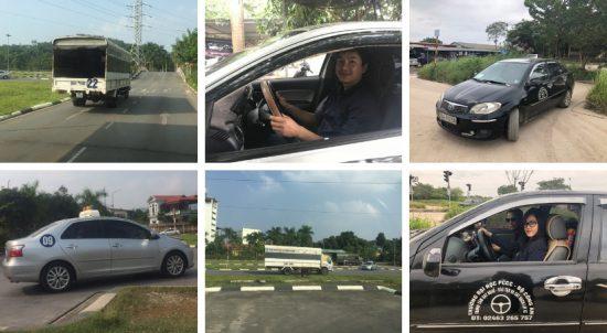 Học lái xe ô tô tại huyện Gia Lâm Hà Nội, học lái xe ô tô trường đại học pccc