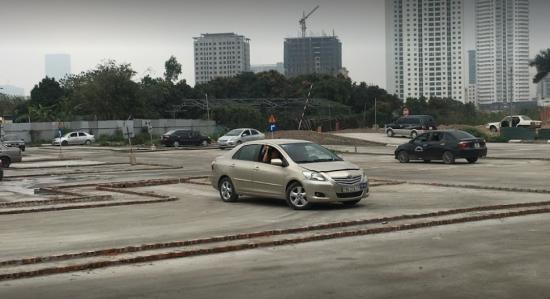 Học lái xe ô tô tại quận Hoàng Mai Hà Nội, Sân tập lái xe Võ Chí Công
