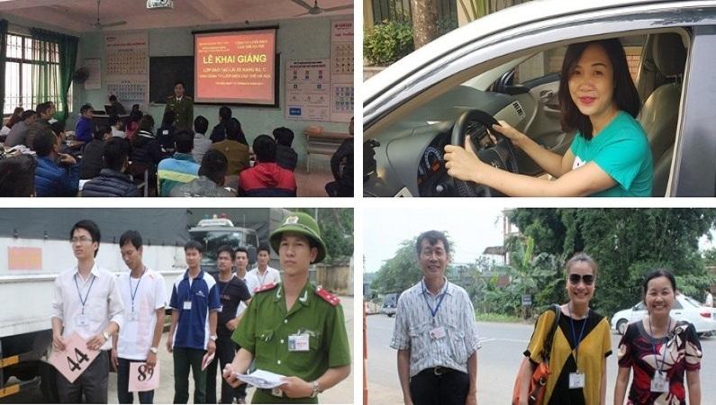 học lái xe ô tô Hà Nội - trường PCCC Bộ công an